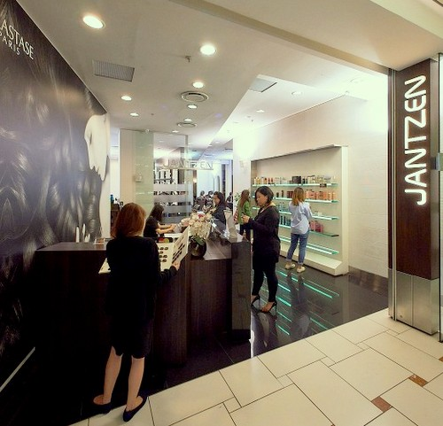 Jantzen Salon hair salon at Jurong Point shopping centre in Singapore.