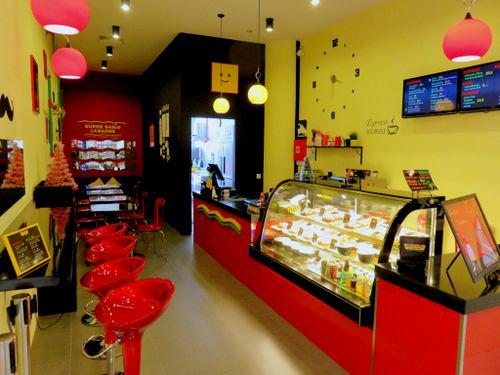 Super Dario Lasagne Café at City Square Mall in Singapore.