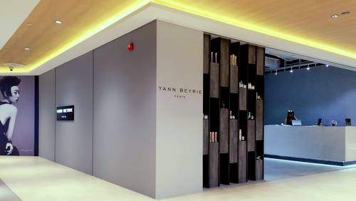 Yann Beyrie Salon hair salon at Wisma Atria shopping mall in Singapore.