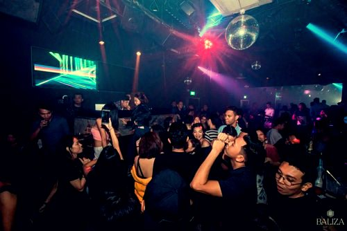 Baliza night club at Marina Square in Singapore.
