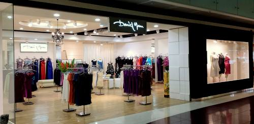 Daniel Yam clothing boutique at Marina Square shopping centre in Singapore.