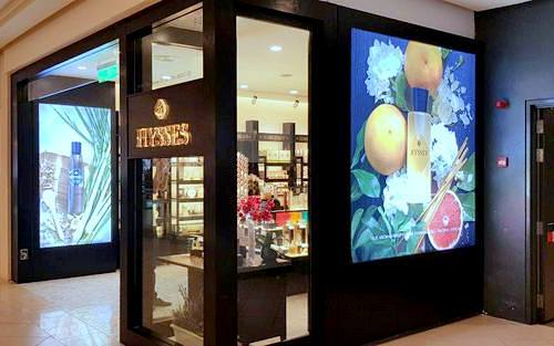 HYSSES aromatherapy store in Singapore.