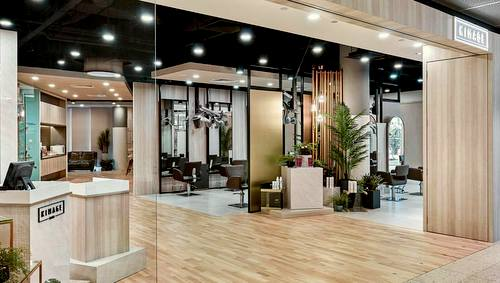 Kimage Cove hair salon at Marina Square shopping centre in Singapore.