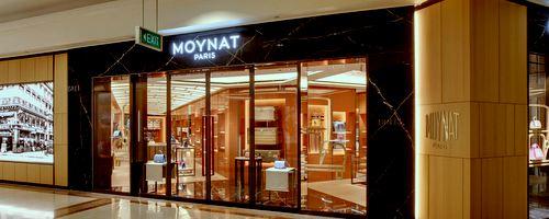 Moynat bag store in Singapore.