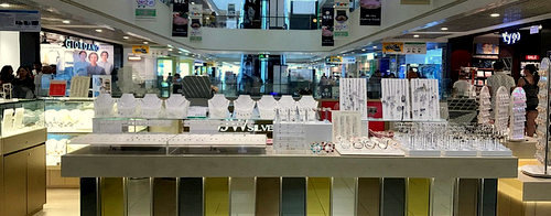 JW Silver jewellery store at Parkway Parade mall in Singapore.
