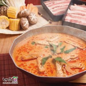 Shabu Sai Japanese restaurant's Laksa Paitan Soup, available in Singapore.