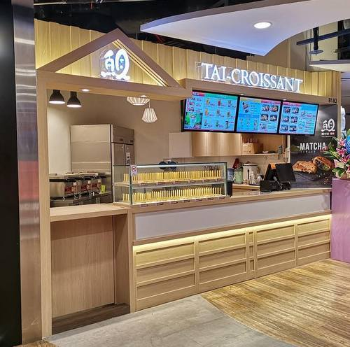 Tai Croissant bakery shop at The Centrepoint mall in Singapore.
