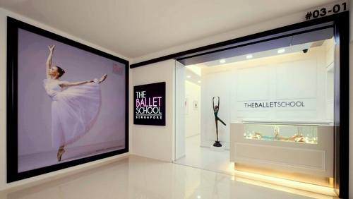 The Ballet School at Djitsun Mall in Singapore.