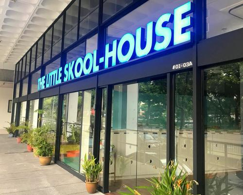 The Little Skool-House at Delta House within Alexandra Road in Singapore.