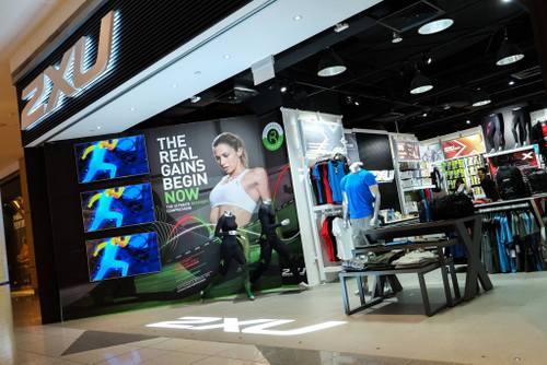 2XU store at Suntec City mall in Singapore.
