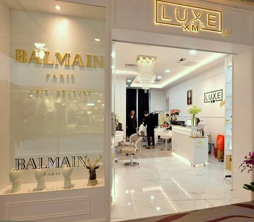 Luxe XM hair salon at 313@Somerset mall in Singapore.