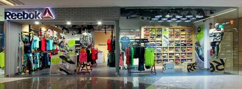 Reebok store at Suntec City shopping centre in Singapore.