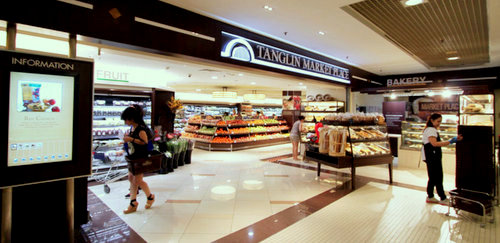 Tanglin Market Place supermarket at Tanglin Mall in Singapore.