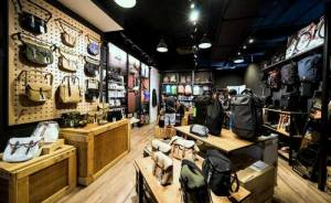 The Bag Creature bag store at Suntec City shopping centre in Singapore.