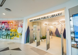 Bukit Panjang Public Library in Singapore.
