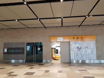 Baggage Storage by Smarte Carte outlet in Singapore.