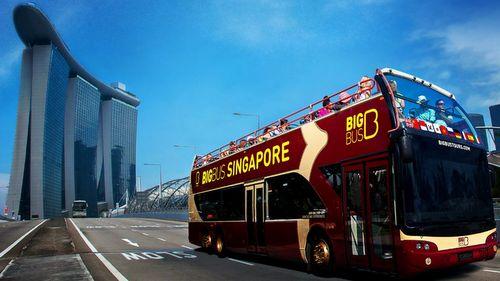 Big Bus Tours in Singapore.