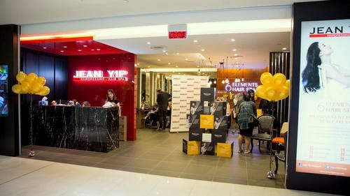 Jean Yip Hairdressing salon in Singapore.