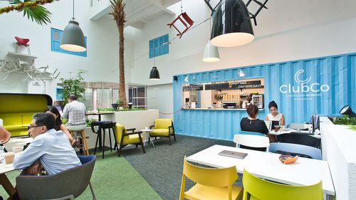 ClubCo co-working space in Singapore.