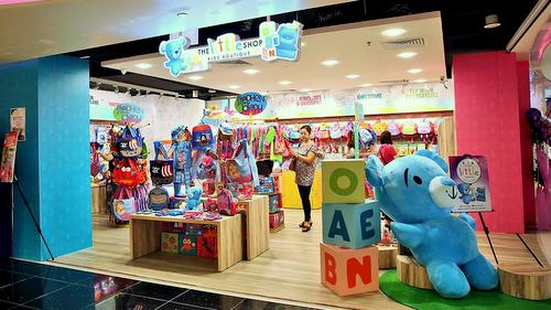 The Little Shop at Changi Airport Terminal 3 in Singapore.