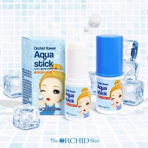 The Orchid Skin Aqua Stick, available in Singapore.