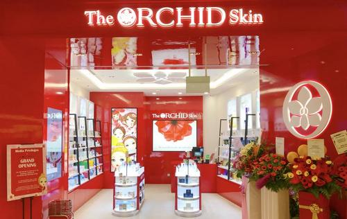 The Orchid Skin beauty store at Jewel Changi Airport shopping centre in Singapore.