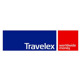 Travelex money change in Changi Airport, Singapore.
