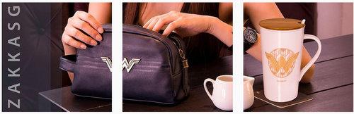 ZakkaSG Wonder Woman handbag & mug, available in Singapore.
