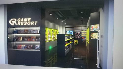 Game Resort store at Sun Plaza shopping centre in Singapore.