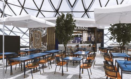 Herit8ge restaurant in Singapore.