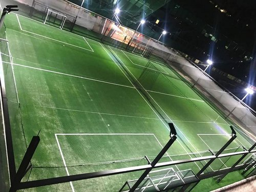 The Ark Futsal centre at Changi Business Park in Singapore.
