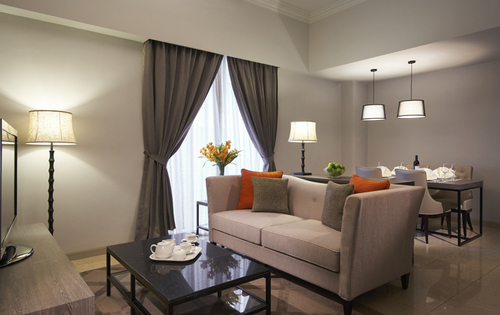 One-Bedroom Apartment at Regency House in Singapore.