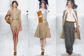 Michael Kors, SS14 NYFW. Michael Kors introduced a new line of sex appeal. Oh tarnishing thy old lady fashion I once associated him with. (Definitely worked across from one of his LA-based stores.)