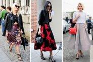 Fashion Week, street trends.
