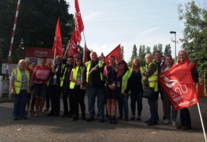 Argos Castleford picket
