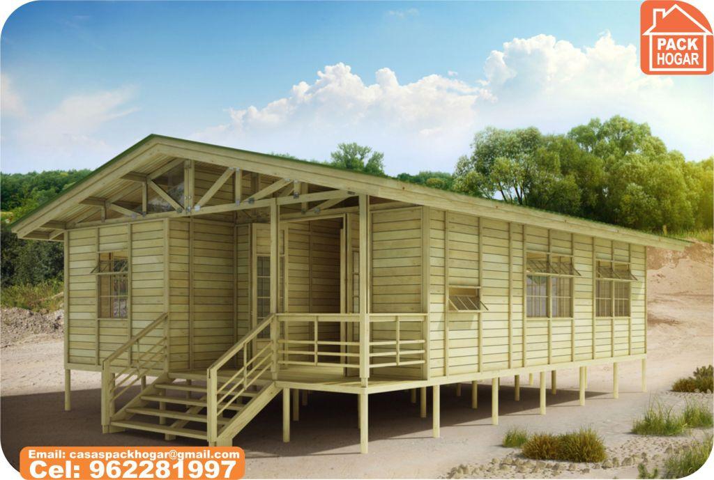 Casas Prefabricadas De Madera   Vale La Pena Construir