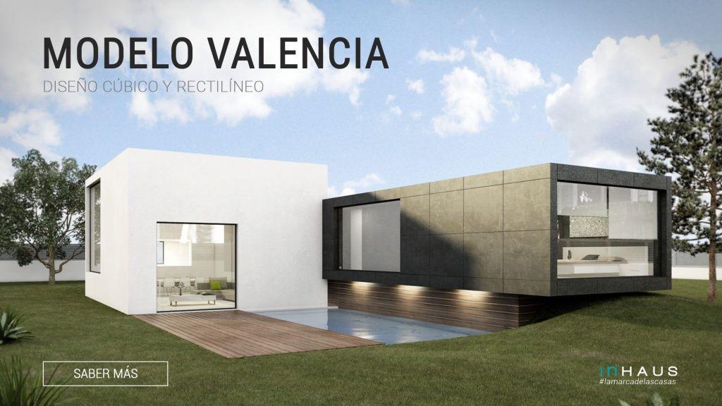 Casa De Diseño Valencia Chalet De Lujo Y Fachada Moderna De