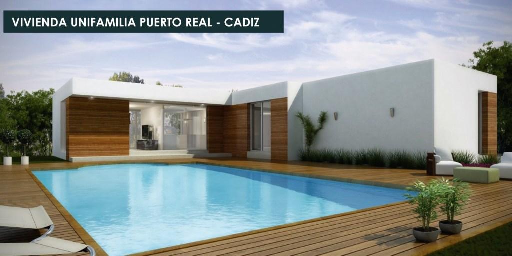 Casa En Puerto Real – Cádiz – Obryarte  Casas Prefabricadas