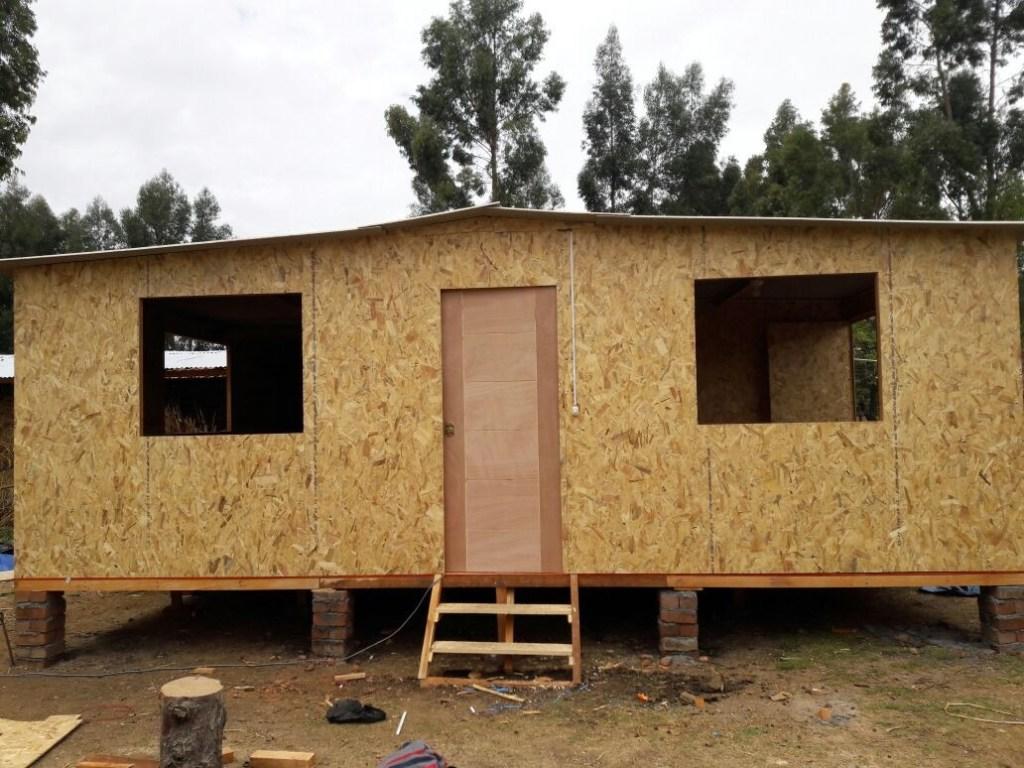 Casas Prefabricadas De Madera Y Drywall Estructuras En Gral