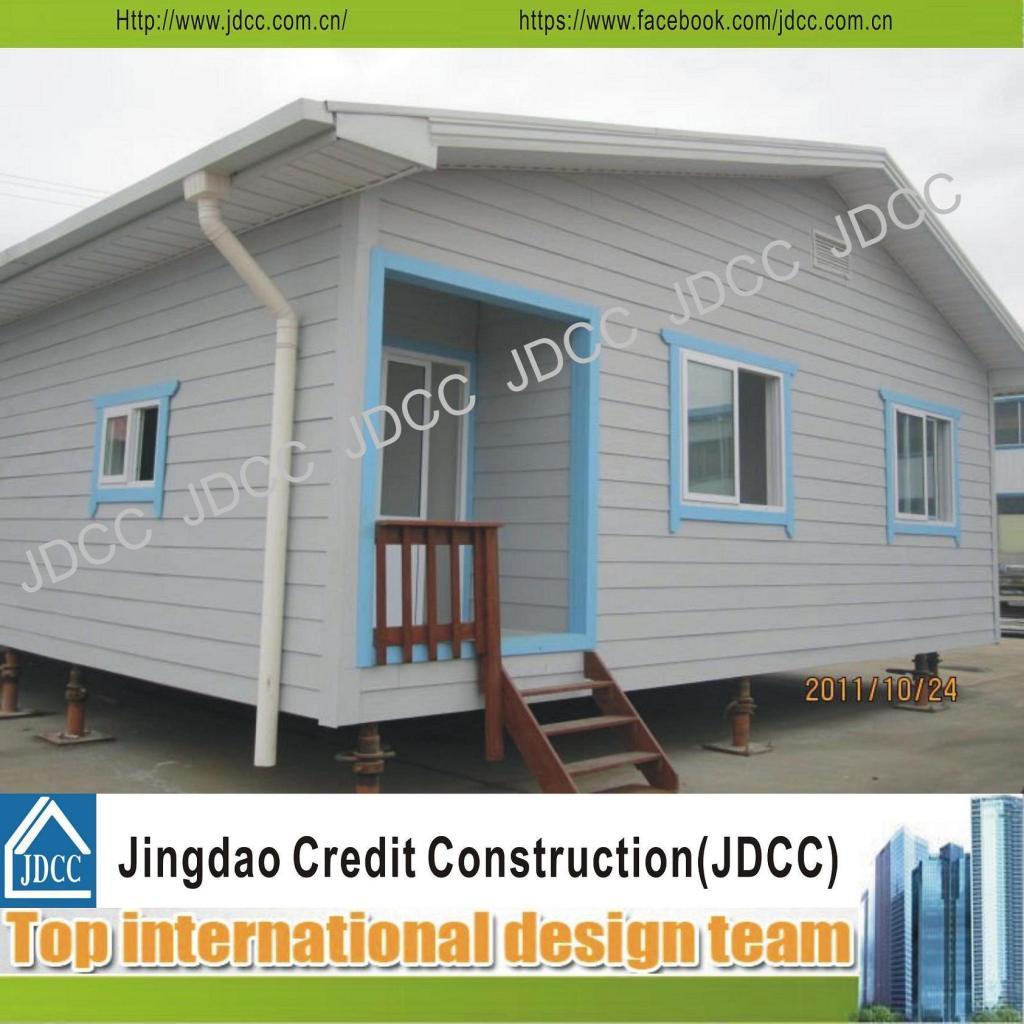 Foto De Acero Color Glassfiber Casa Prefabricada De Paneles