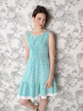 Oak Park dress teal