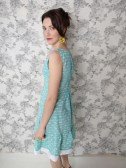 Oak Park dress Teal_Detail