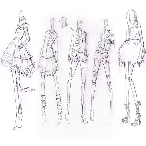 Arielle Salkowitz Concept Drawing