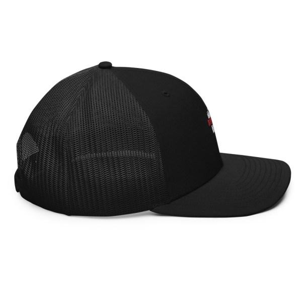 snapback trucker cap black 5feb83f96298f