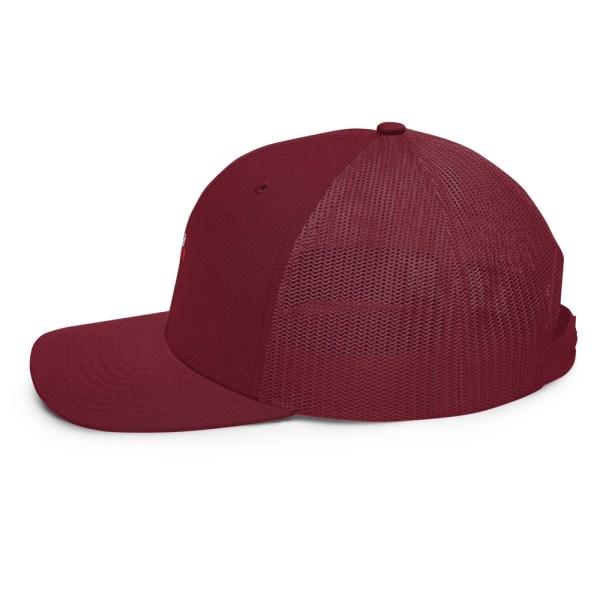 snapback trucker cap cardinal 5feb83f962b01