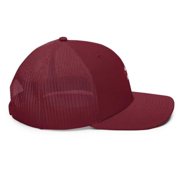 snapback trucker cap cardinal 5feb83f962b34