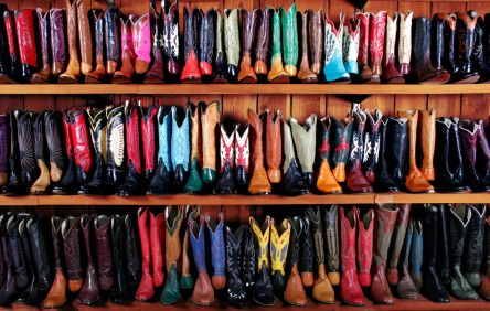 Leddys_Wall_of_Boots