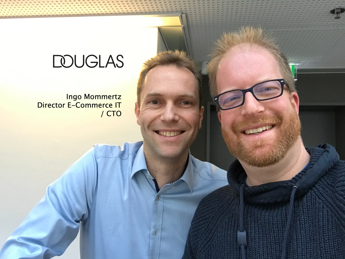 ShopTechTalks #040: Die E-Commerce-IT von Douglas