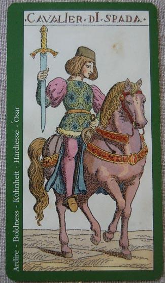 Daily Tarot: Knight of Swords – Alchemy
