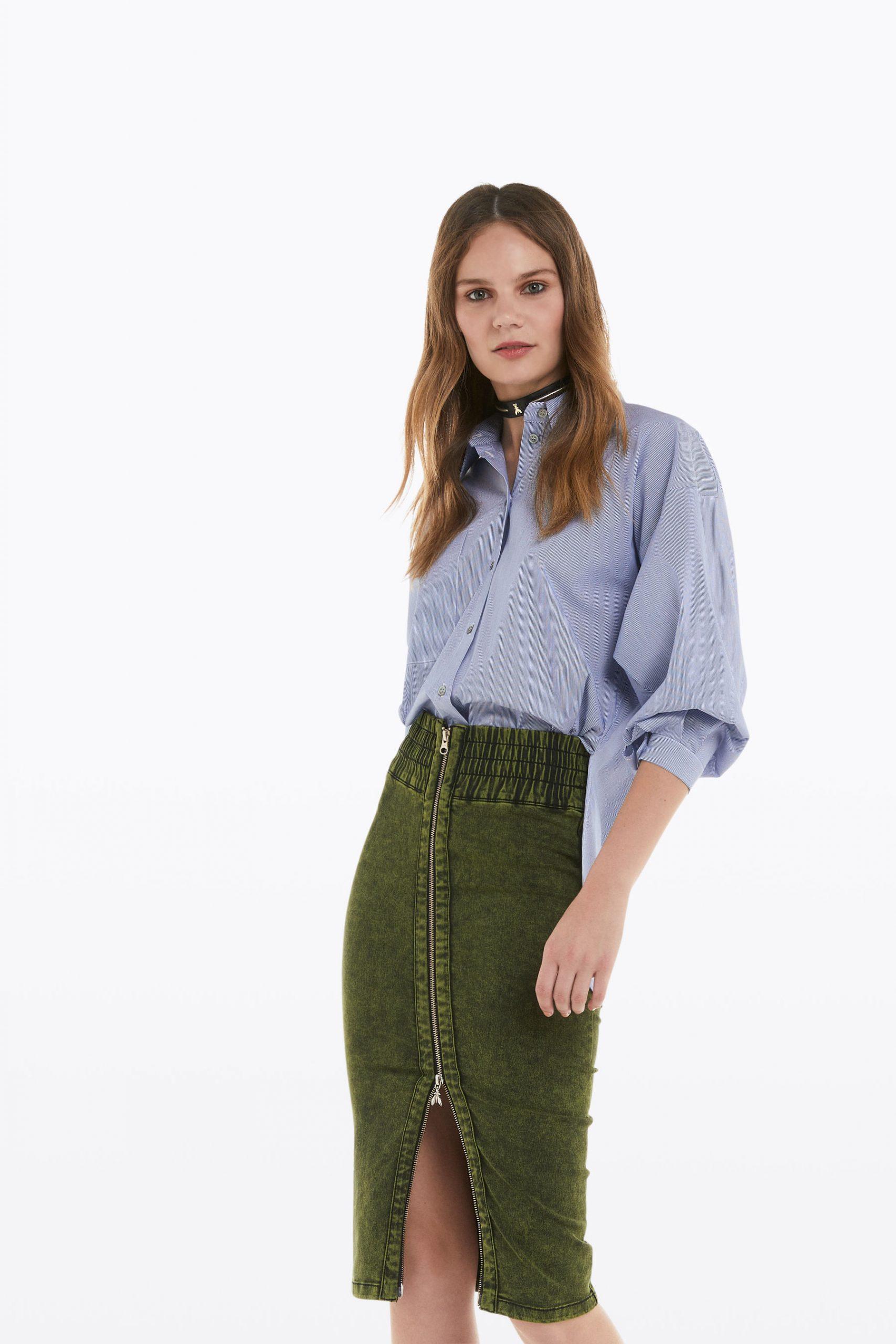 Abbigliamento Patrizia Pepe  Camicia over a righe Sky Way Stripes female collezione 2020 shop the look
